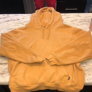 Men's yellow gold sweatshirt